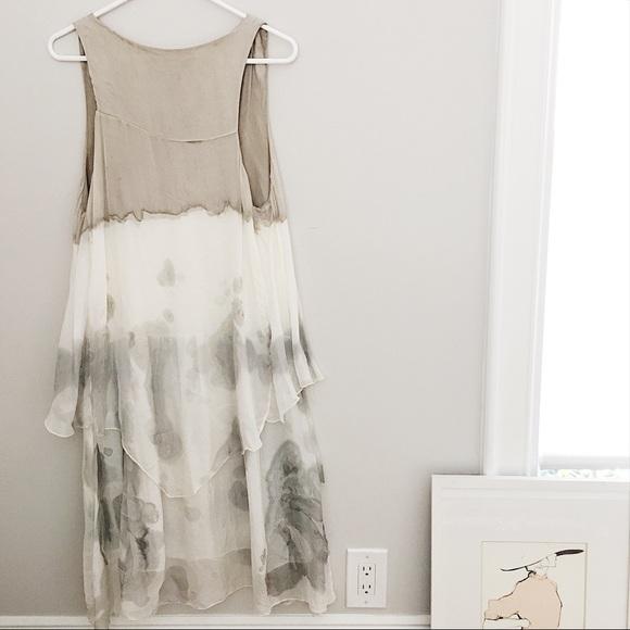 Italian Silk Casual Dress